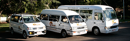 Falcon Safaris Transfer Fleet